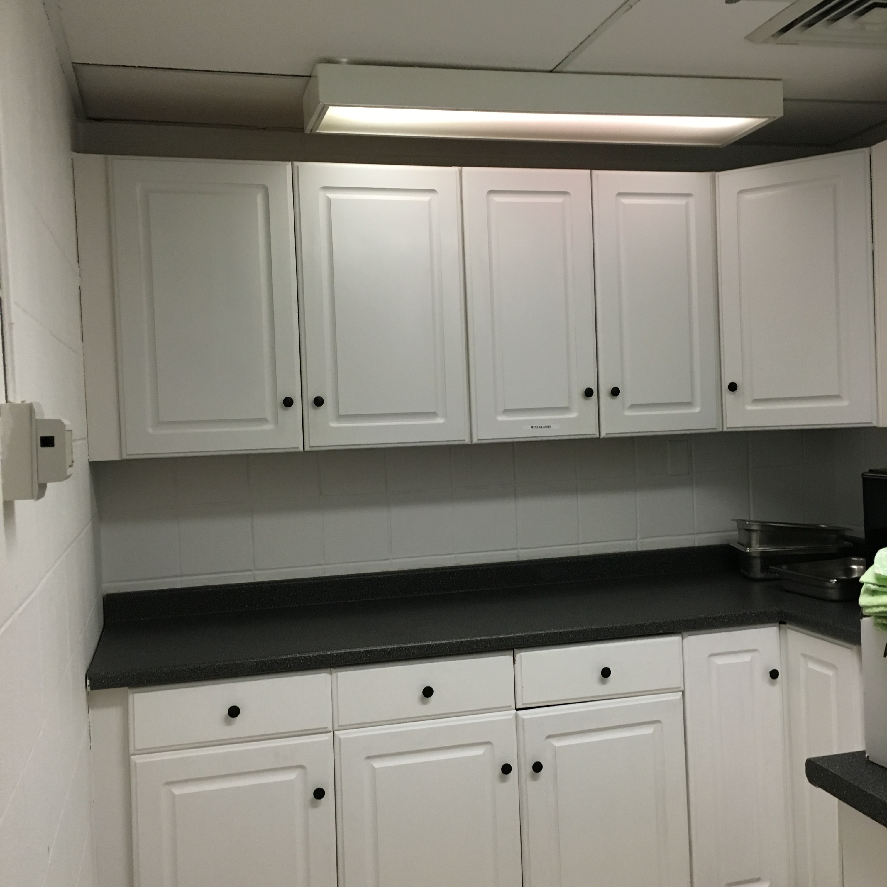 photos of kitchen cabinets with hardware eagle scout renovates dietary kitchen of 24635